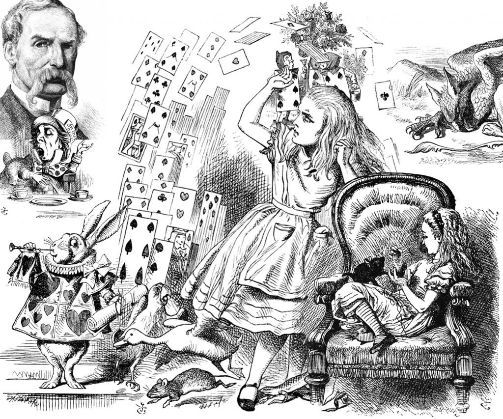 Sir John Tiennel y el mundo Alicia.